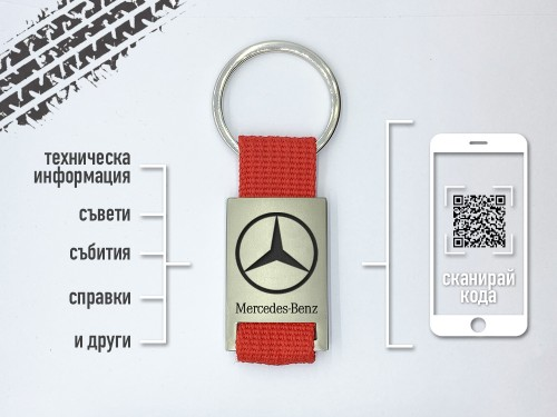 Kлючодържател Mercedes Benz